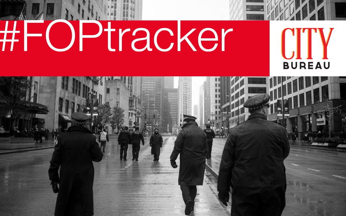 #FOPtracker - On June 30, 2017, the Fraternal Order of Police contract with the city of Chicago will expire. Using an excel spreadsheet and Genius, we've annotated the police union contract with analysis, media reports, legal cases/studies, academic research and more to present a complete view on how the FOP impacts and influences police accountability nationwide.