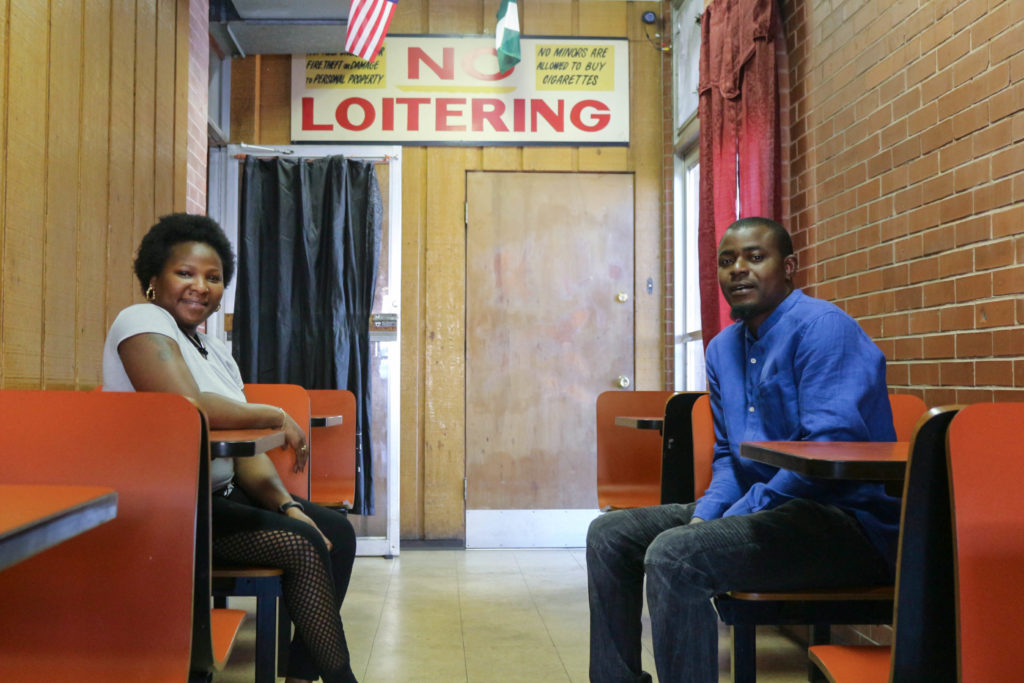 Mariam and Ade Lala, owners of Southside African Restaurant (Sarah Conway)