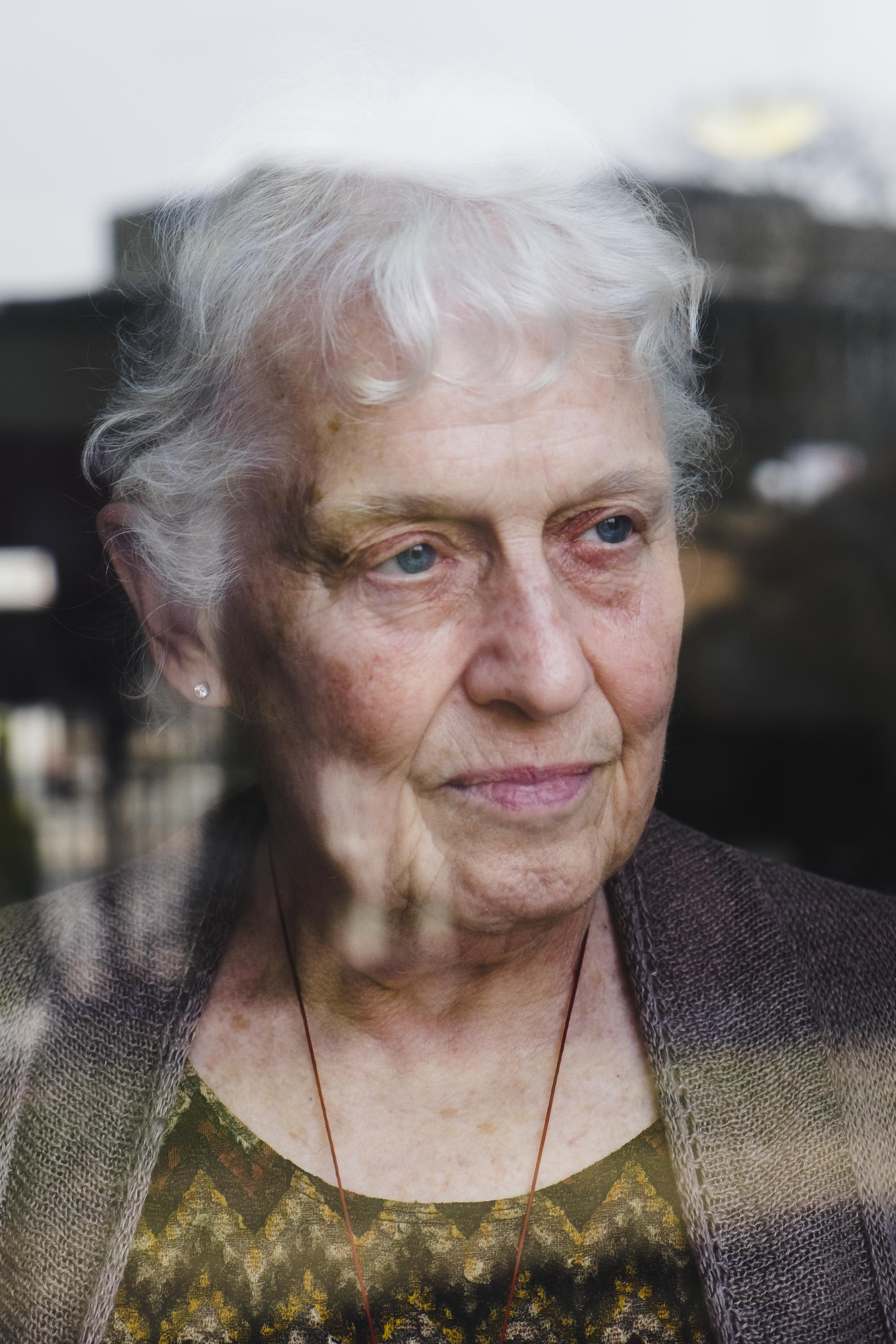 Susan Alitto, one of the founding members of the Chicago Hyde Park Village, an organization that aims to keep older adults involved in the community and battle loneliness.
