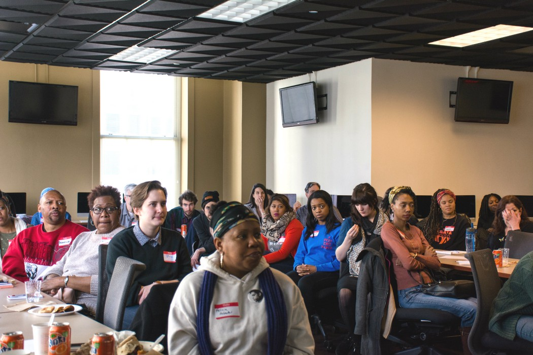Folks from all over the city gathered for our first Documenters Summit. (Photo: Sebastián Hidalgo)