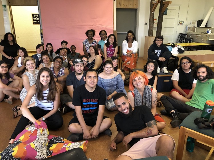On June 30, our Summer '18 fellows got to know the good folks at  Yollocalli Arts Reach  for 10 weeks of co-creating, co-mentoring and summer magic!