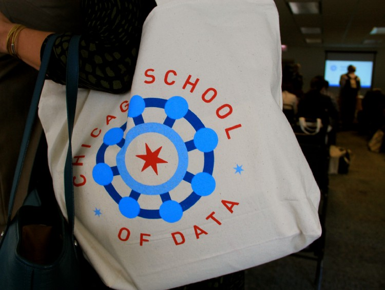 (Photo: Daniel X. O'Neil)  Photos from the 2014 Chicago School of Data convening