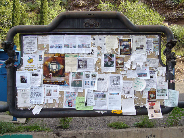 The original information hub: a community bulletin board. (Photo: Darron Fick/Flickr)