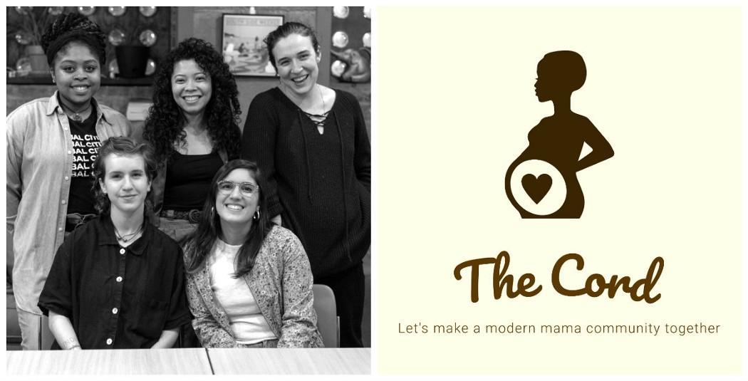 The Cord team (clockwise from top left): Janaya Greene, Camille Powell, Sarah Conway, Caroline Olsen and Emeline Posner [Photo: Max Herman]