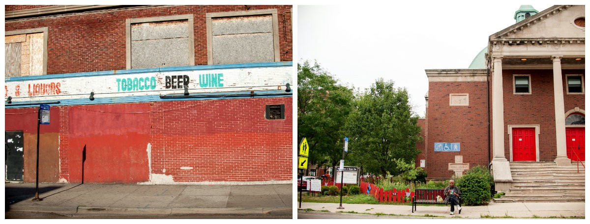 (left) 6900 S. Ashland Ave. (right) 6925 N. Ashland Ave. (Photos: Tonika Johnson)