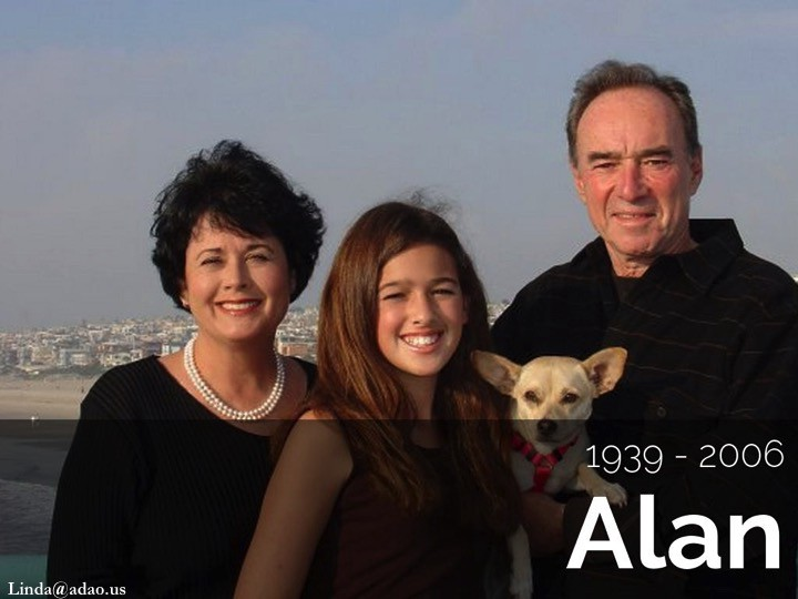 """From Linda's article, """"Shattered: Remembering the Love and Light of Our Life, Alan Reinstein"""""""