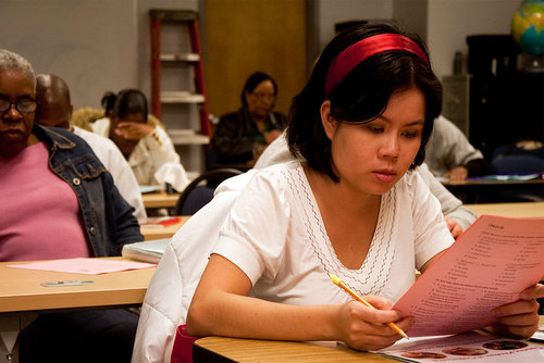 Students at City Colleges (Photo: Christopher Connell/Flickr)