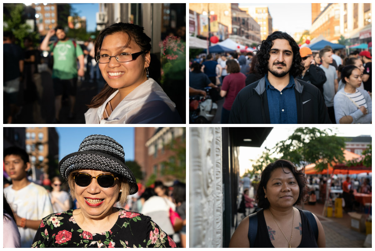 (clockwise from top left) Chau Le, Khan Osama, Tevy Chuck and Connie Chang. (Photos: Alexis Kwan)