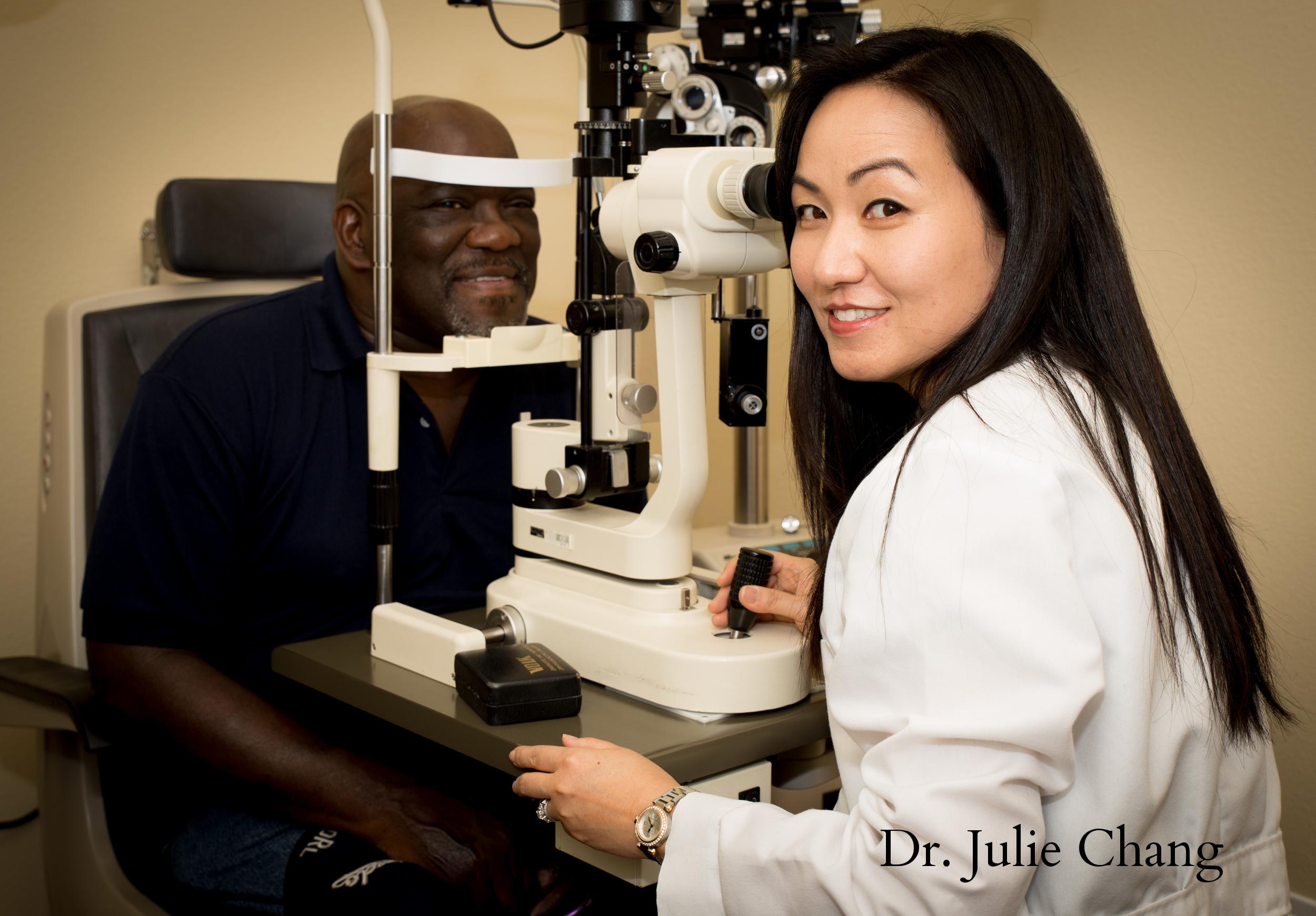 Dr. Julie Chang of Vegas Vision