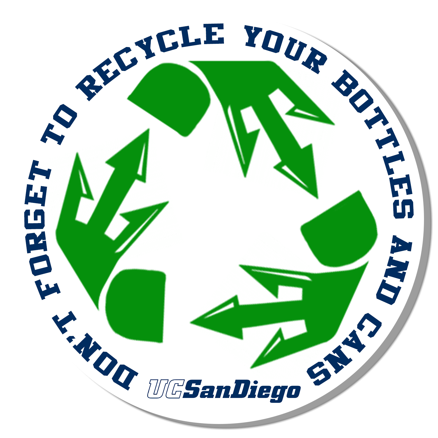Official Sustainability Campaign Logo used as an asset on all materials related to project.