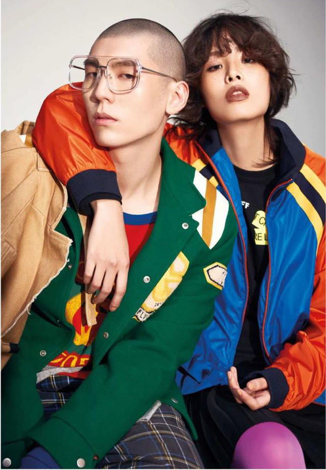 Sport athletes  Photo / Adam Chang Styling / Yu kwen Hair / Joshua Liao Model / Jiun Wang , Du wei, Miranda Ku