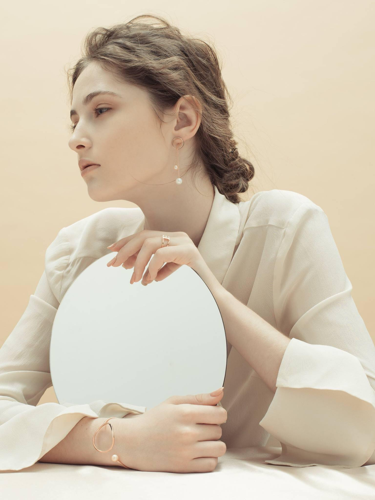 Michi Liang Jewelry 2017 lookbook  Photo / Ernie Chang  Makeup and hair / Yenting