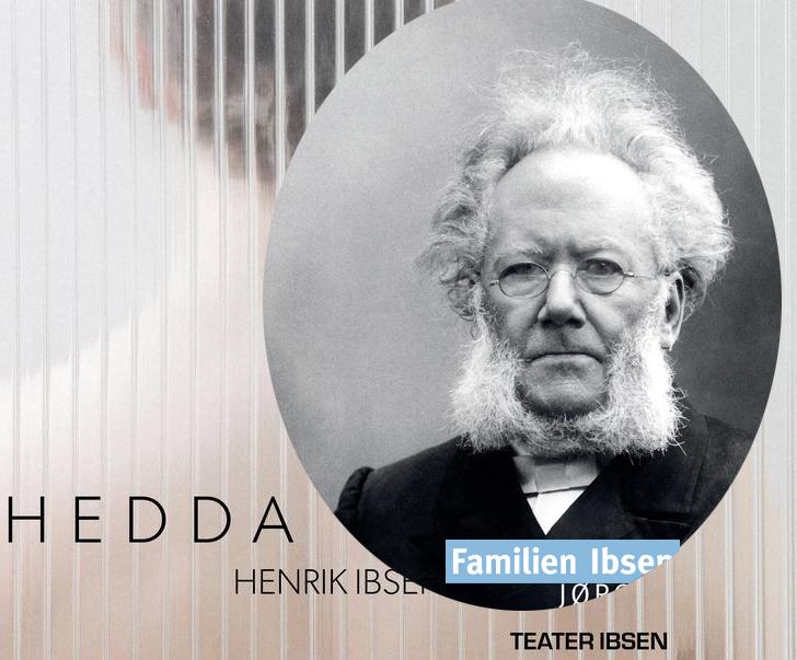 Gjennom september har jeg tatt med publikum inn i forfatterens barndom som en liten oppvarming til Teater Ibsens tolkning av  Hedda Gabler.