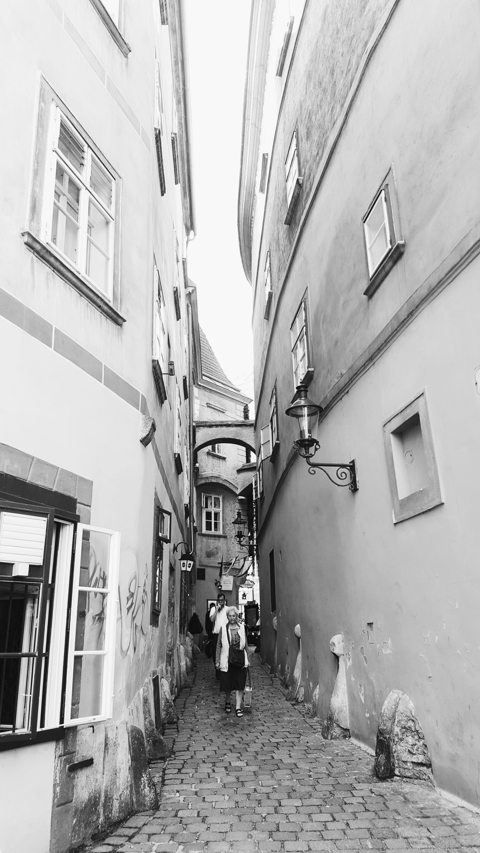 Oldest street in Vienna by Griechenbeisl,