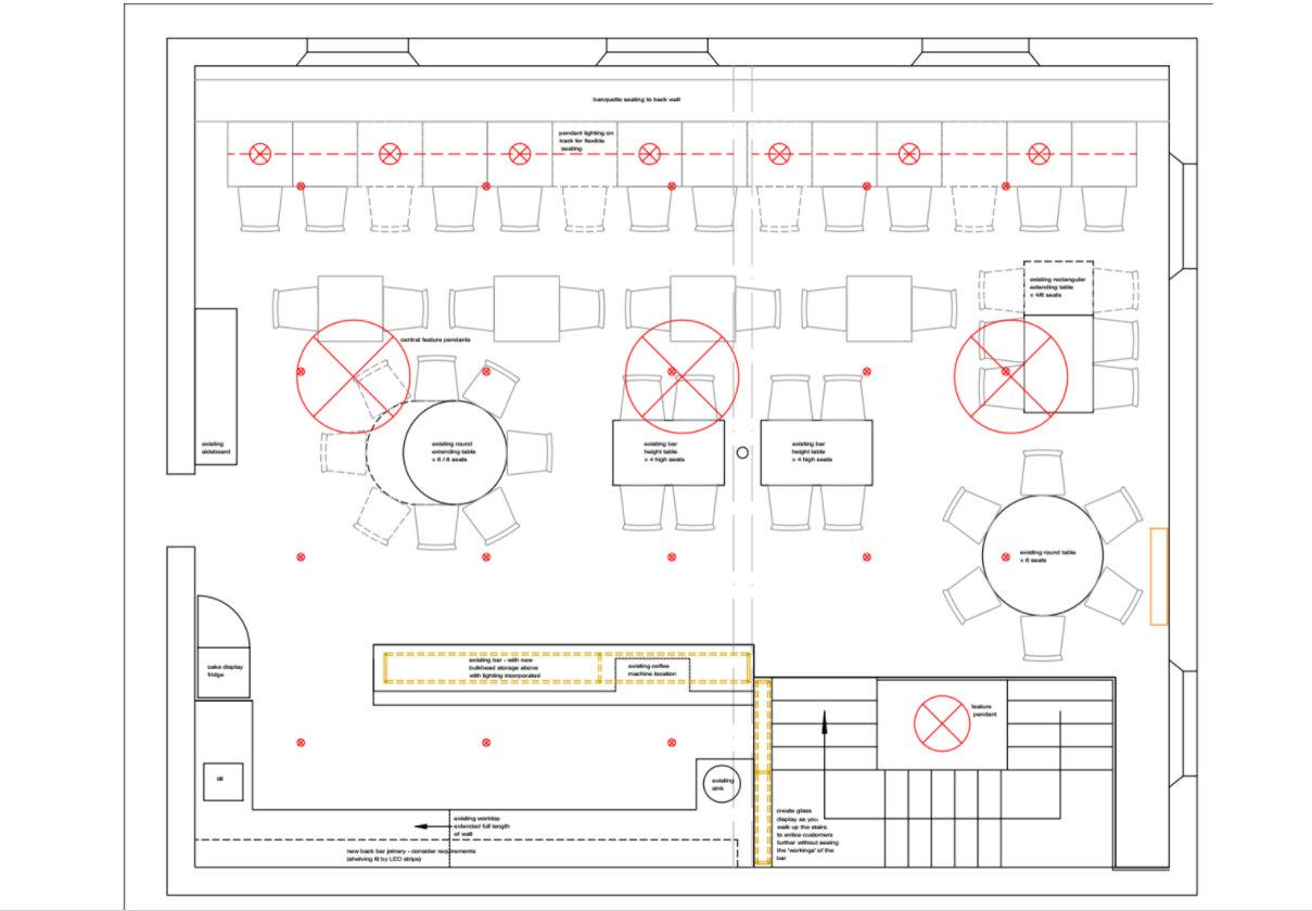 Shill's of Cockermouth - Restaurant Interior Design