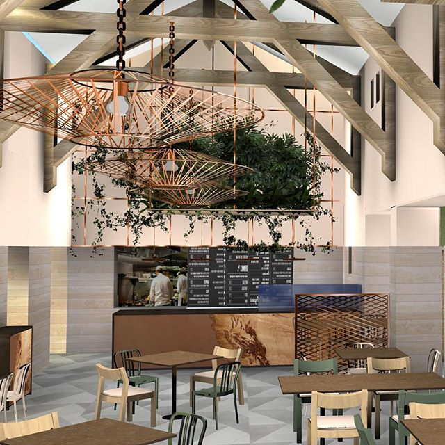 Find out all about our new restaurant design on our website...🌿#restaurantinteriors #commercialdesign #interiordesigners #cumbria