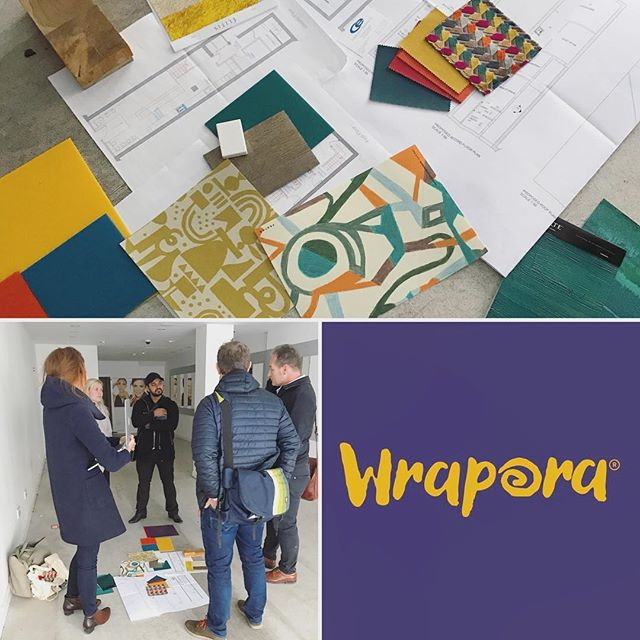Meeting today in Liverpool for @wrapora with the brilliant team.. @hotfootdesign @architectfolk ..very excited for this one!... #watchthisspace #teamworkmakesthedreamwork #womeninbusiness #interiordesign