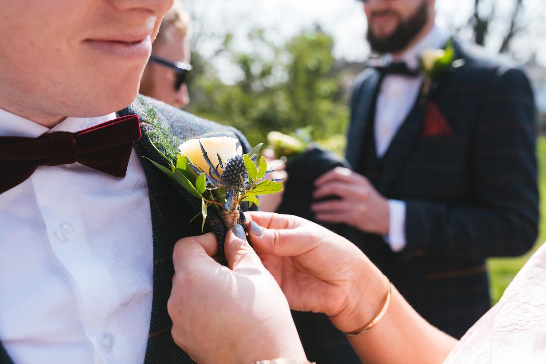 Roberta & Chris buttonhole.jpg