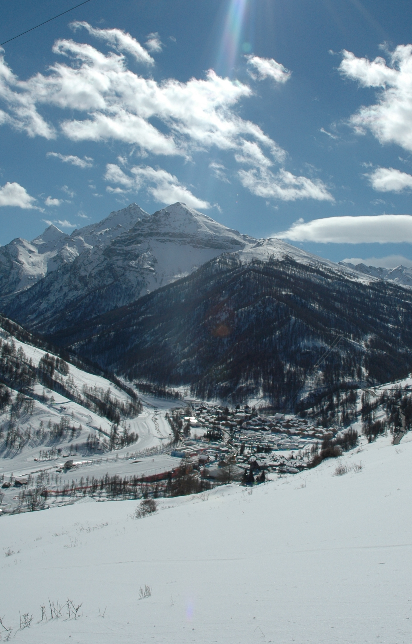 Pragelato within the Val Troncea National Park