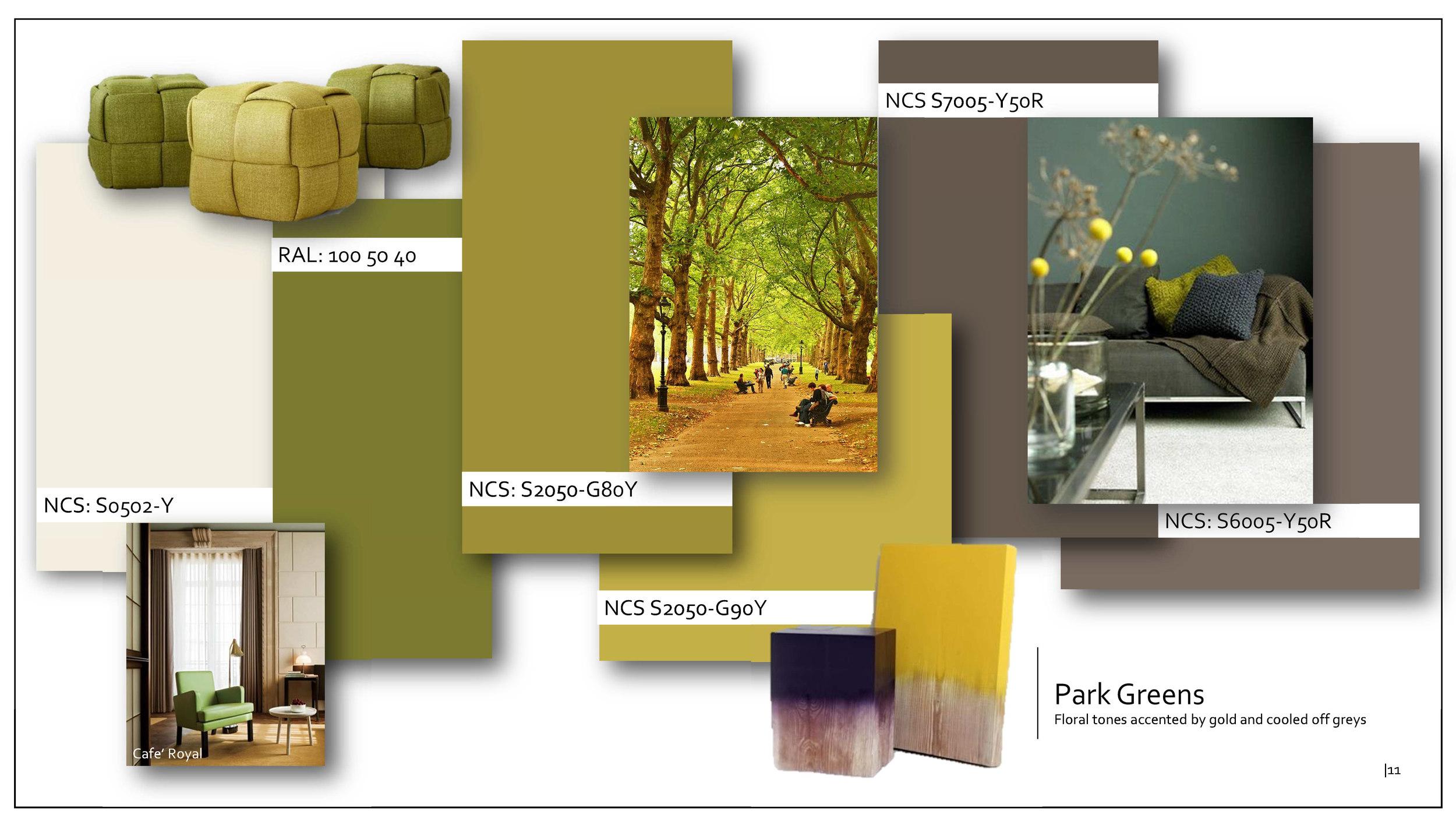 Oikos Paints - Contractors Colour Palette
