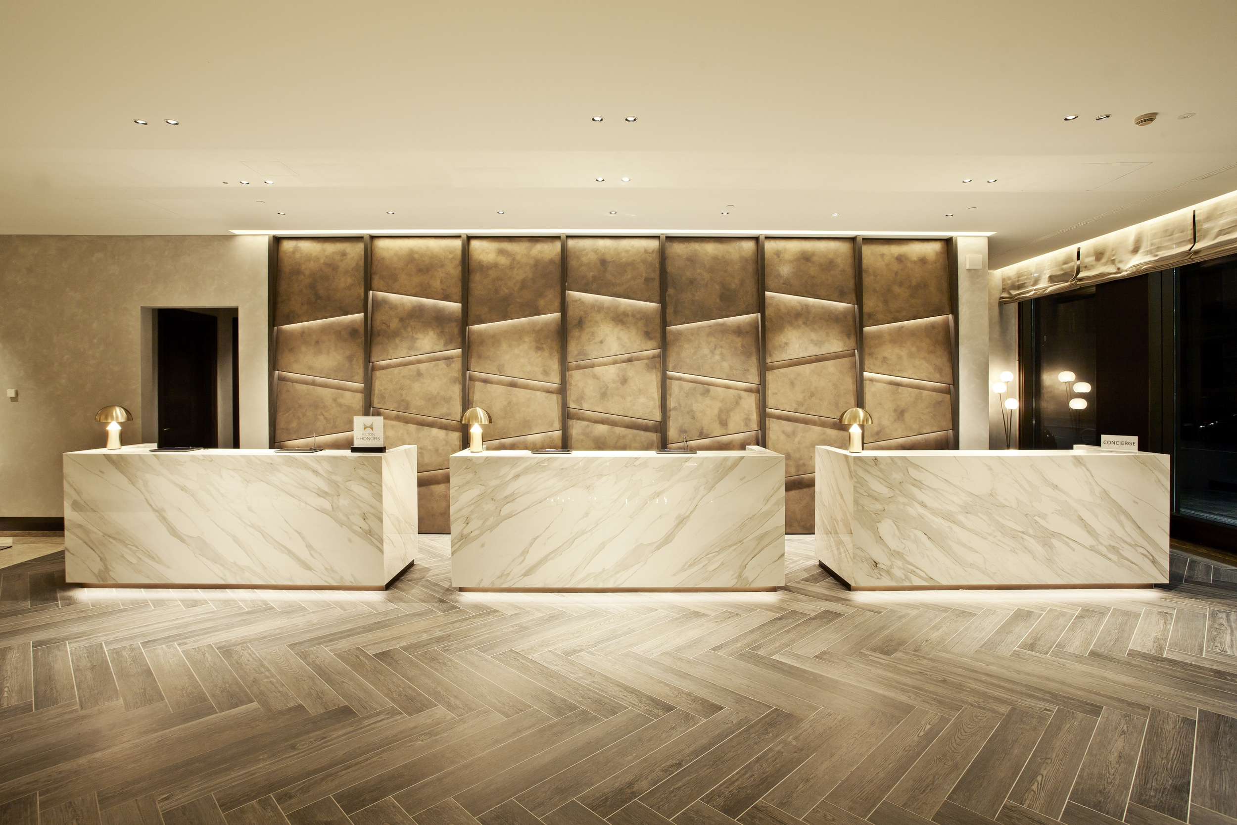Hilton Milan Lobby