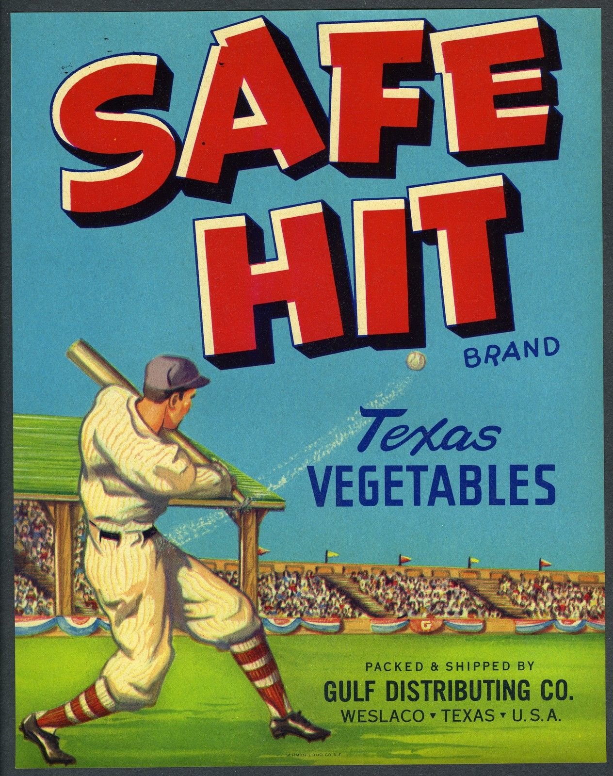 American veg label