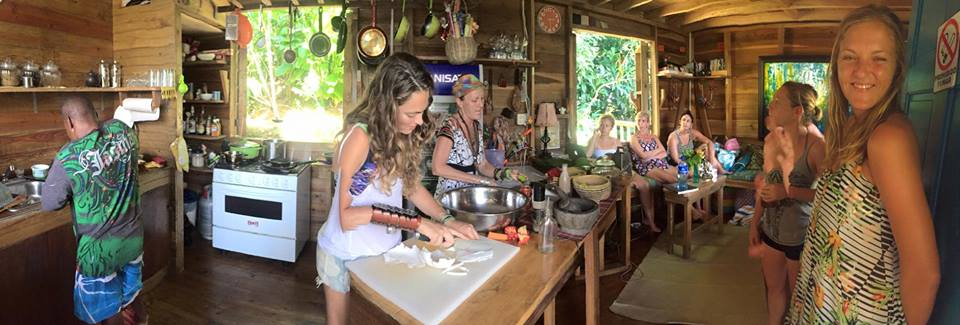 Raw vegan cooking class back in '14.