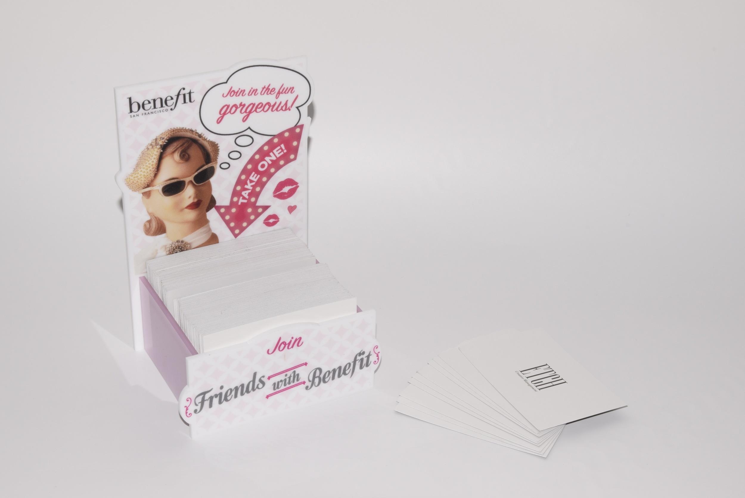 Benefit Business Card Holder