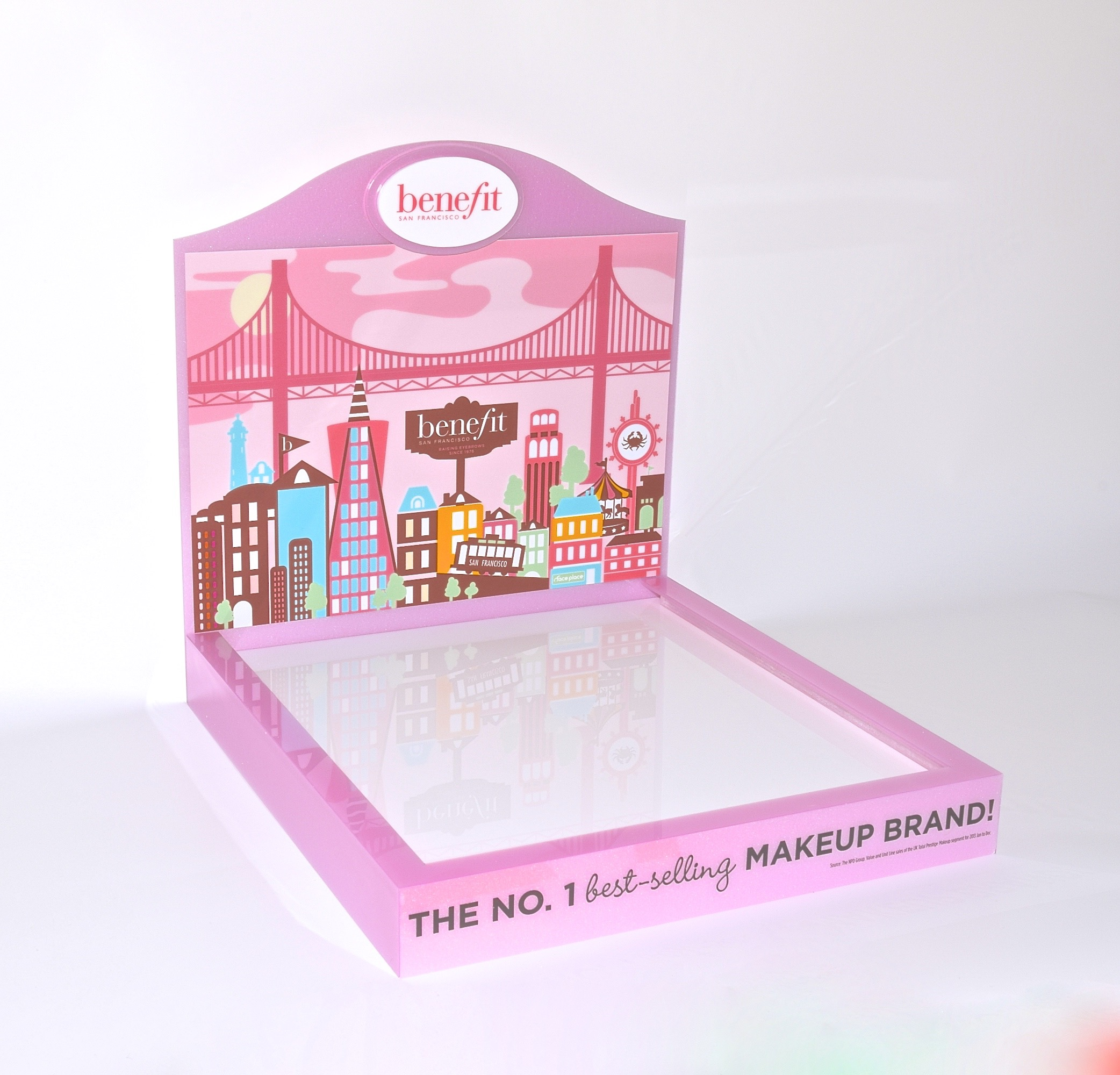 Benefit Counter Tray