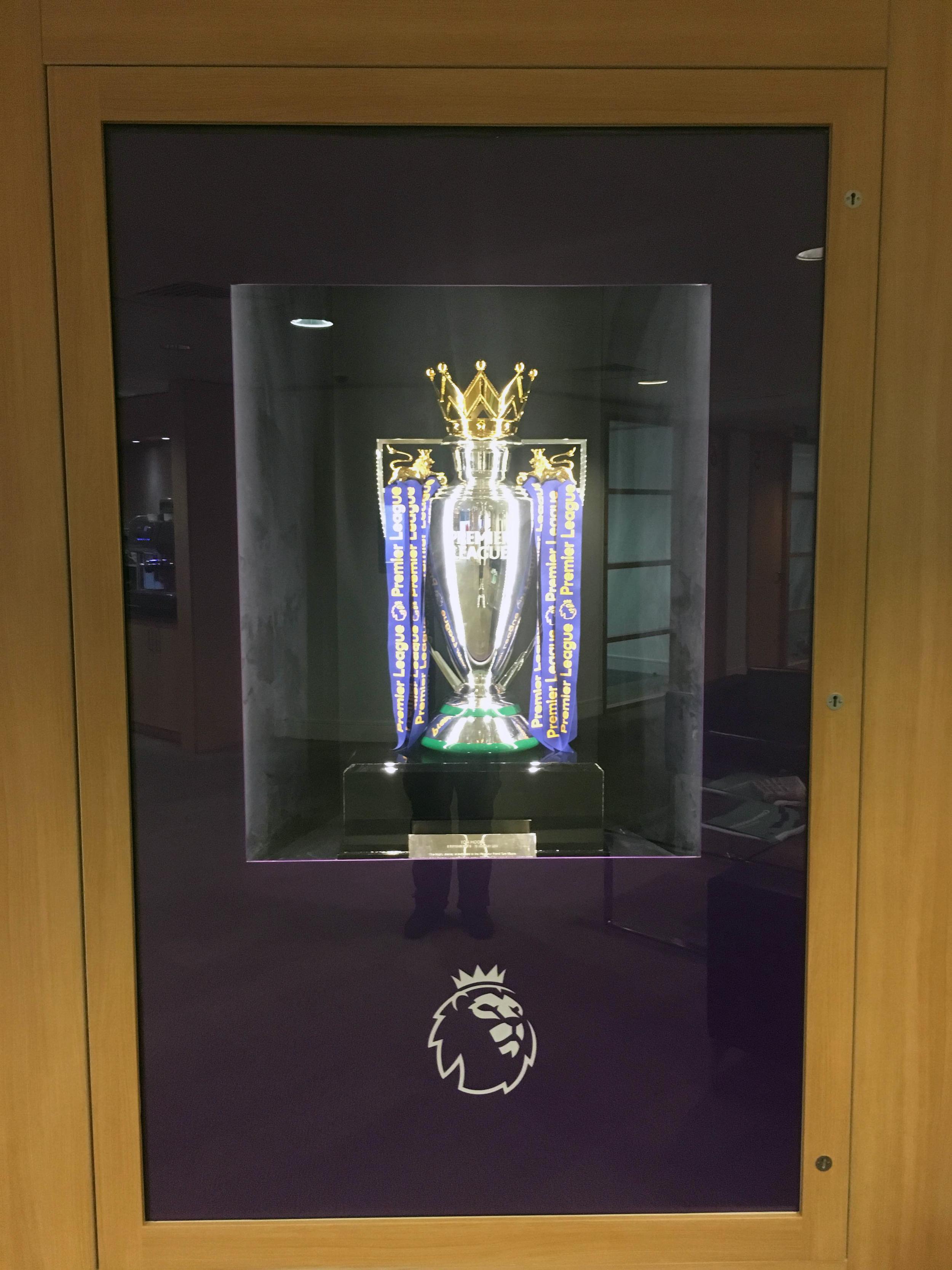 Premier League Trophy Cabinet