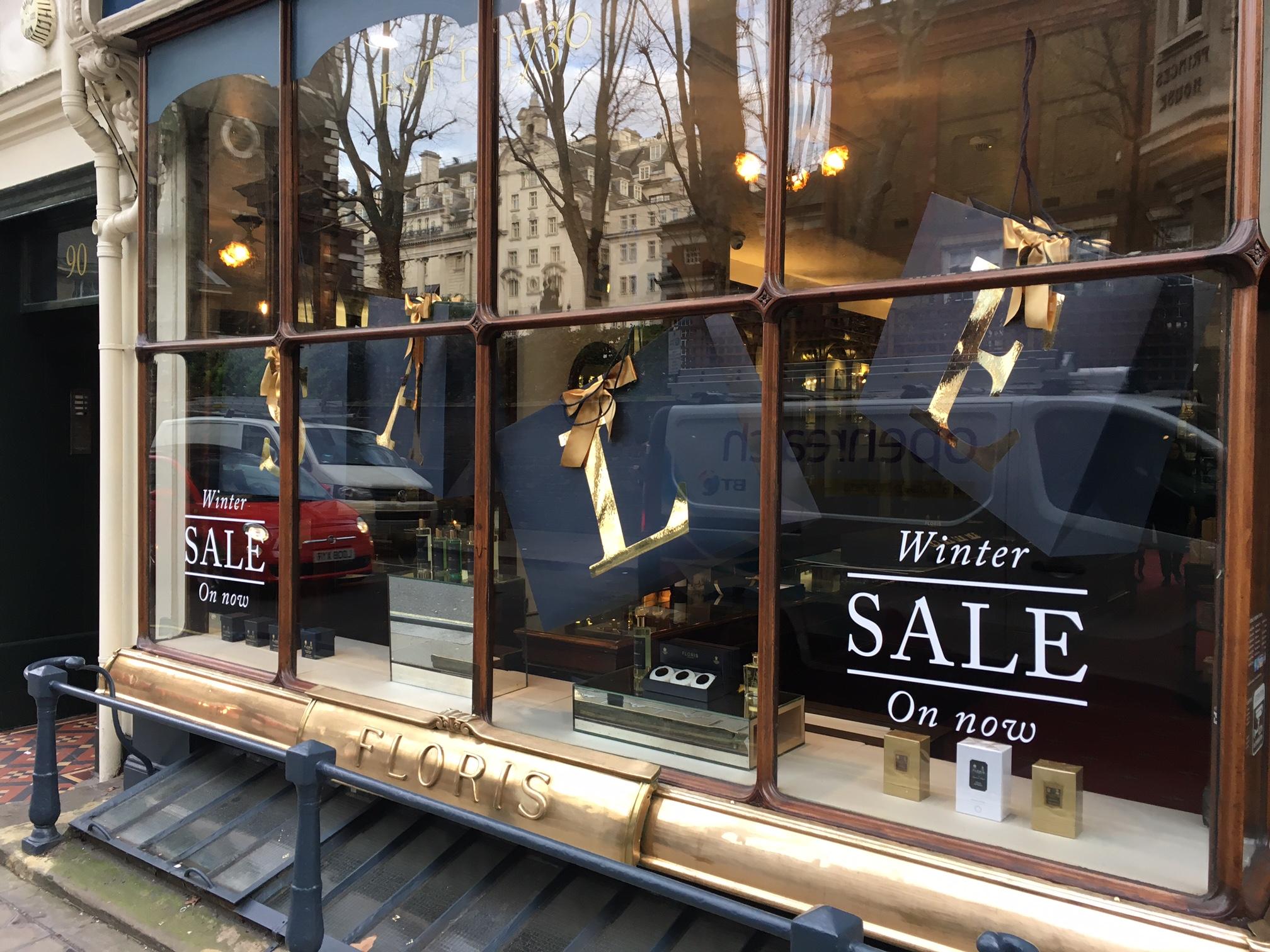 Floris Sale Window