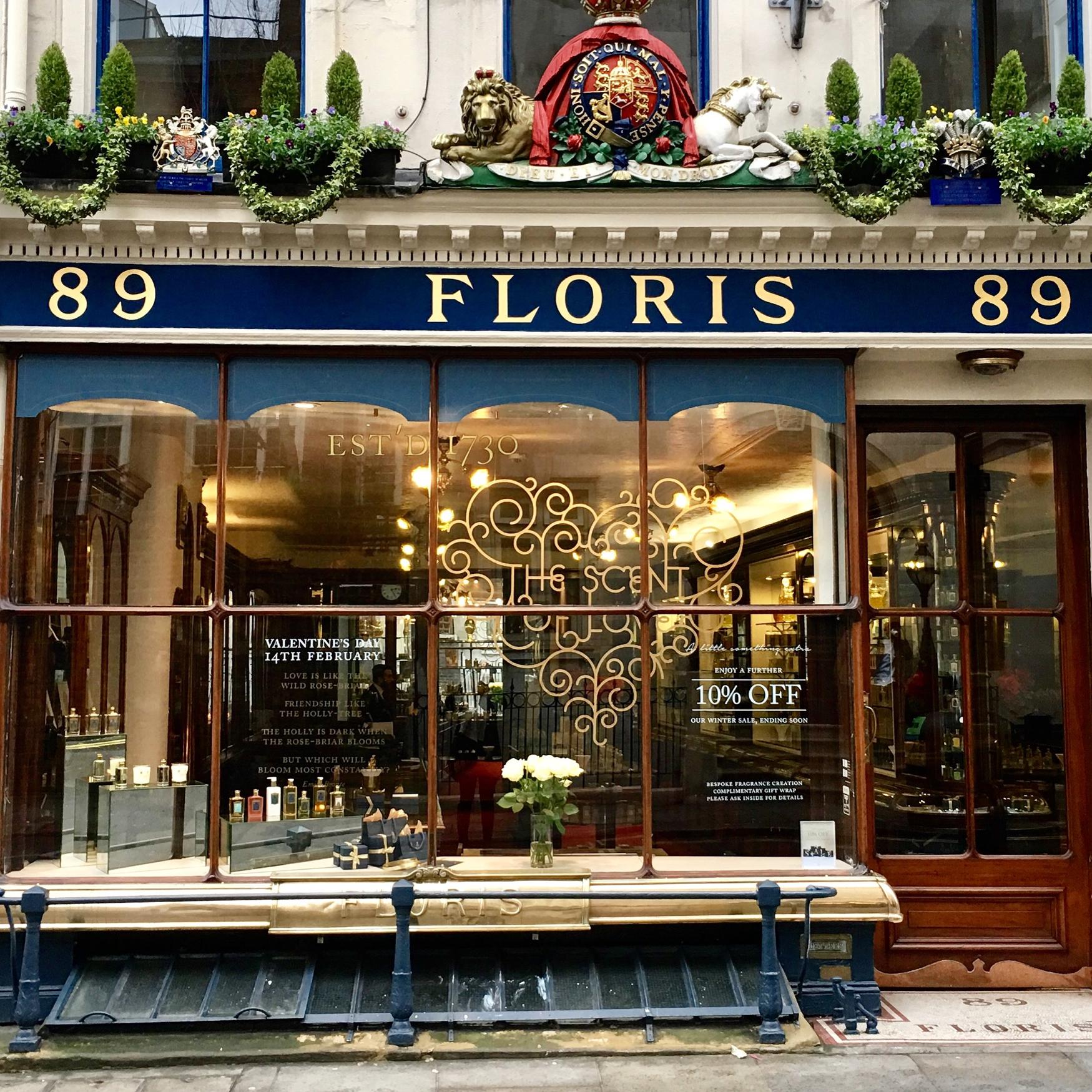 Floris Scent of Love Window