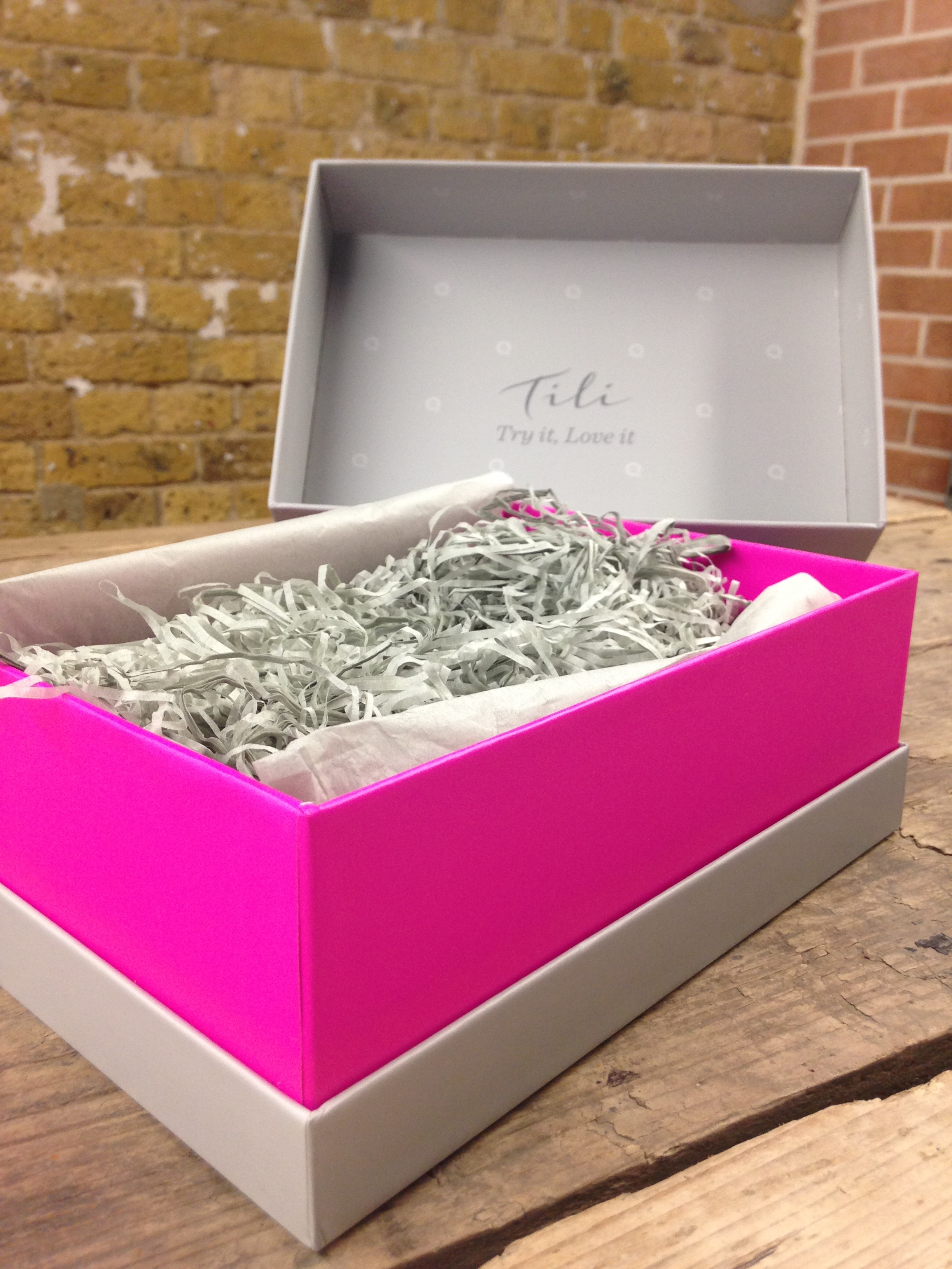 QVC Pink Tili Box
