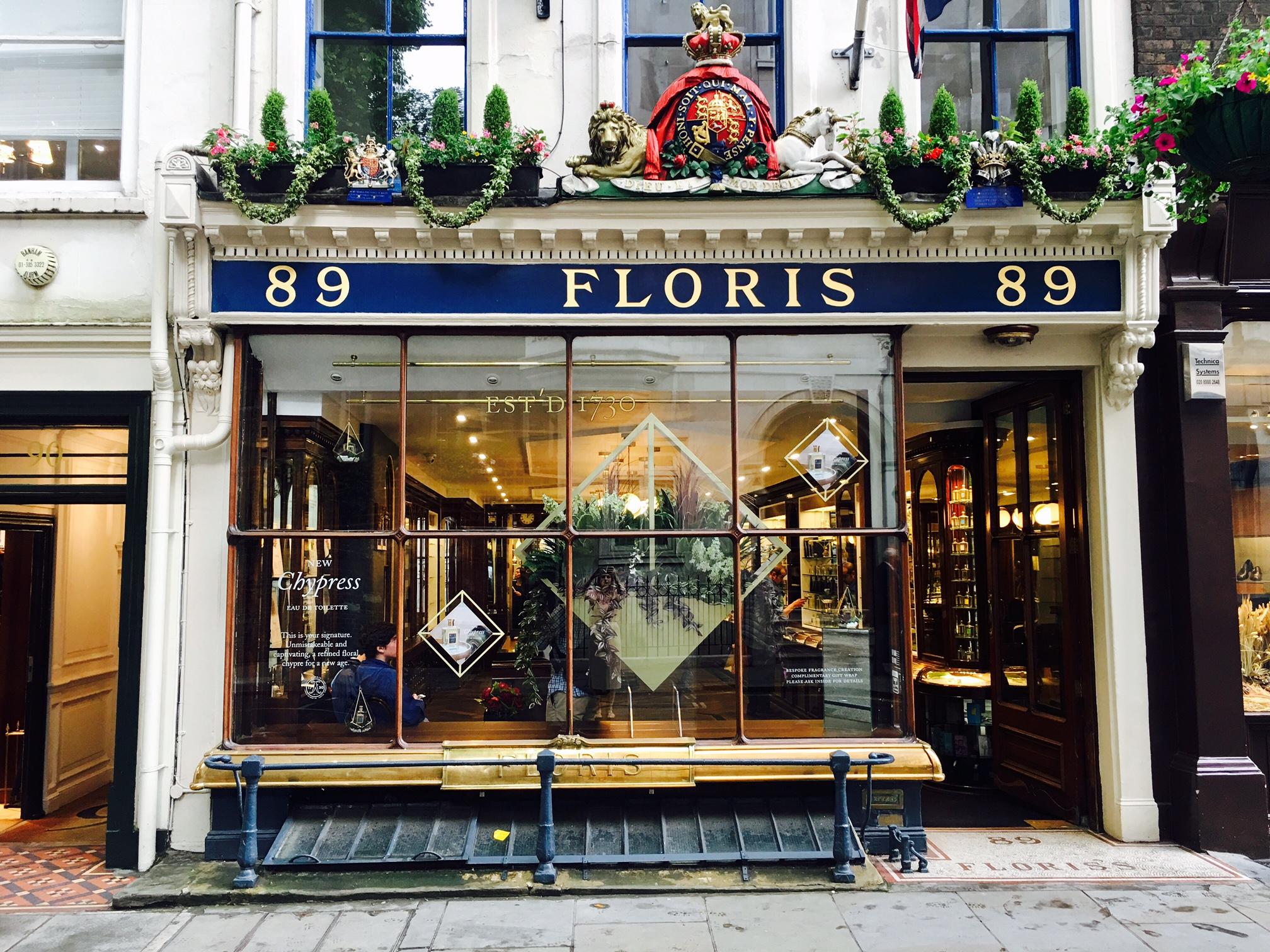 Floris Chypress Window Jermyn St