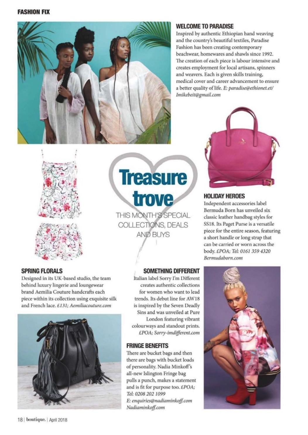 Press feature aemilia couture