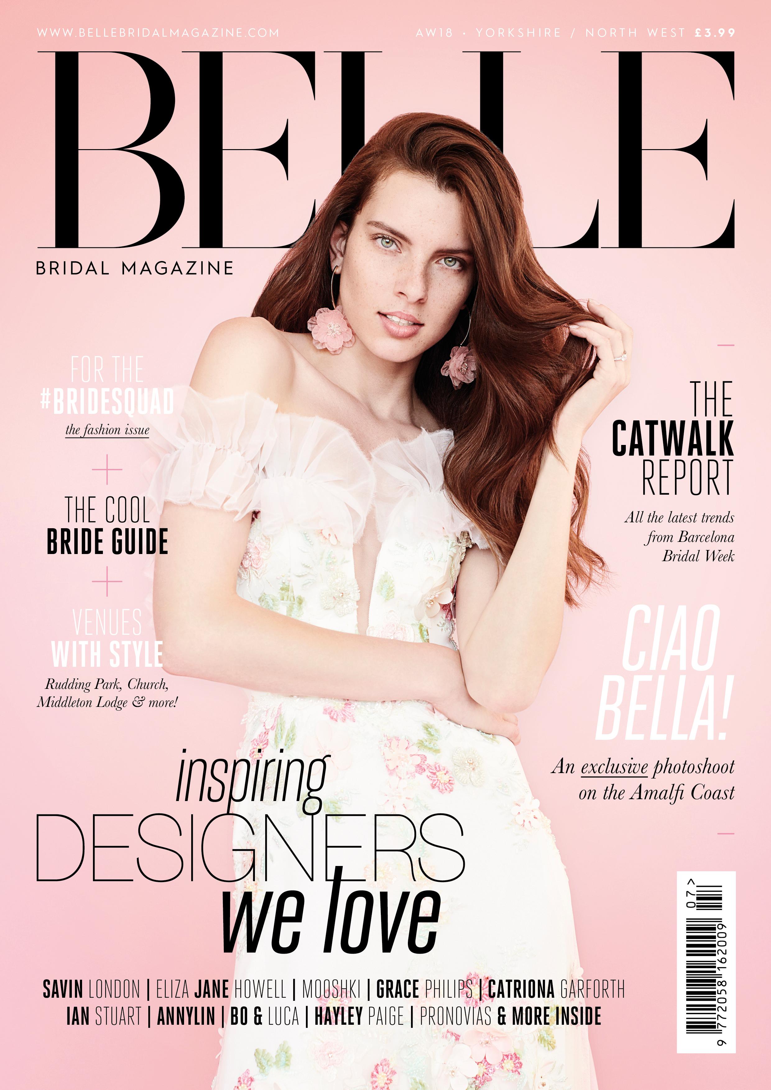 belle bridal feature