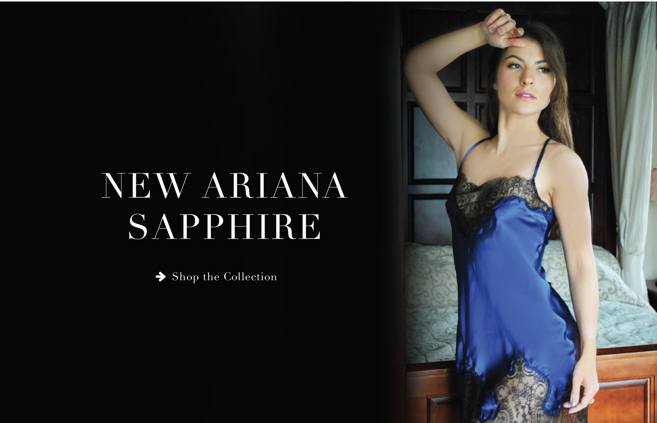 ARIANA AW18 SAPPHIRE COLLECTION