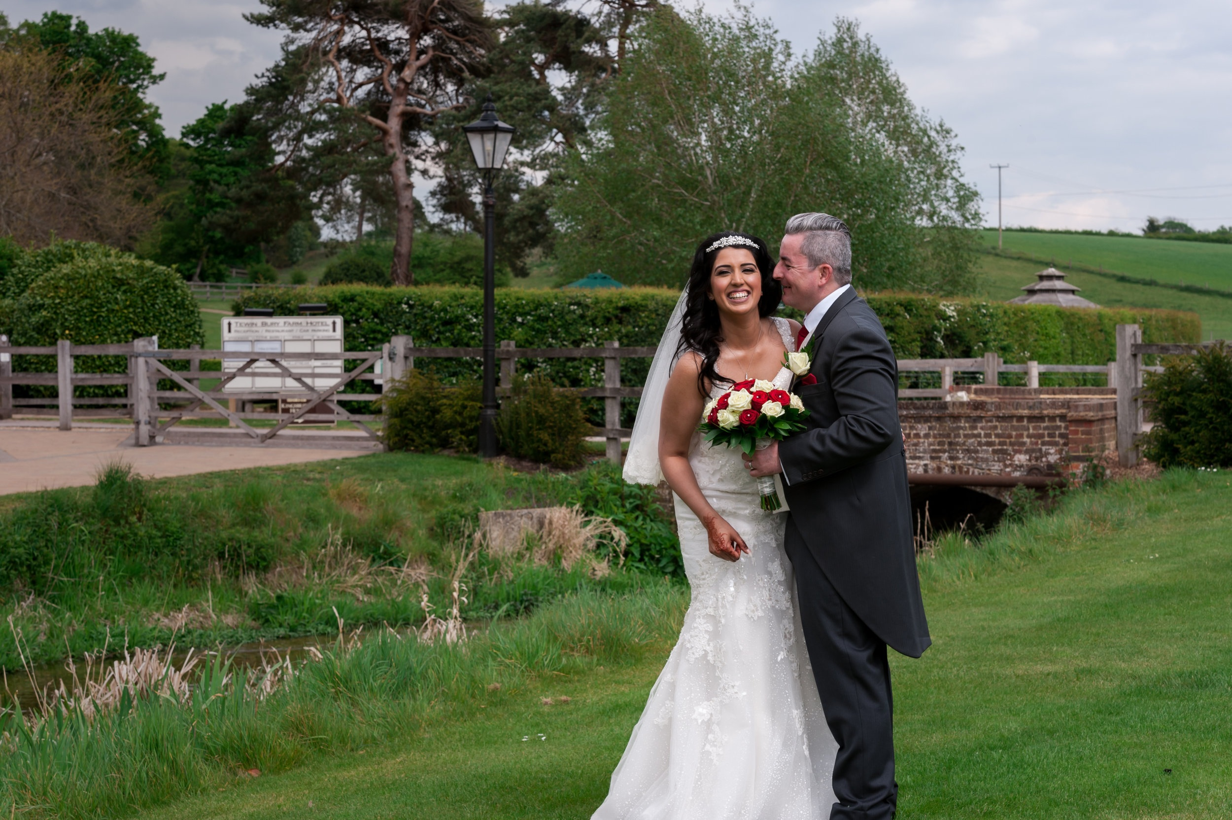 Tewin Bury Farm Hotel Wedding - photographer: Josephine Gray