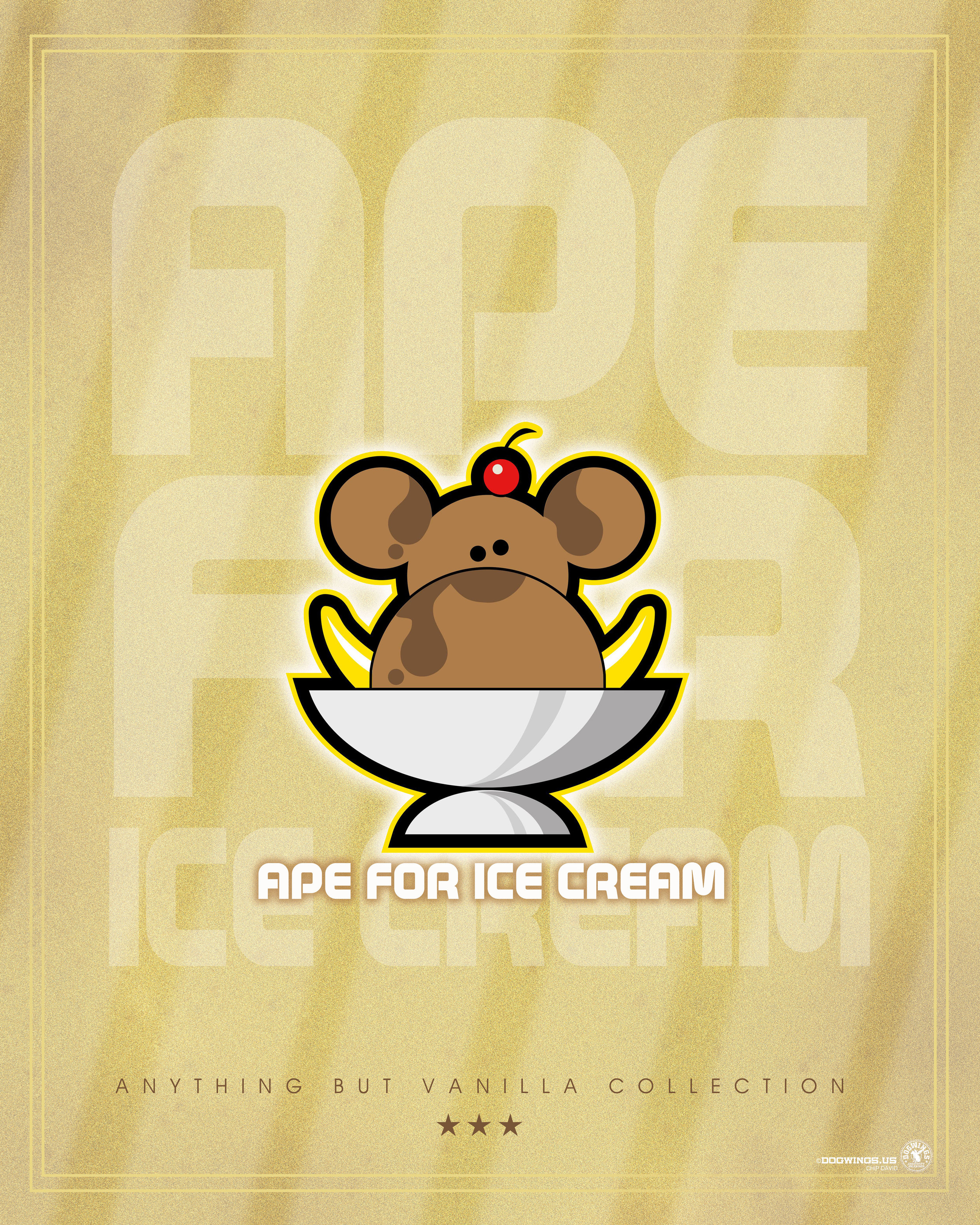 ABV COLLECTION: APE FOR ICE CREAM