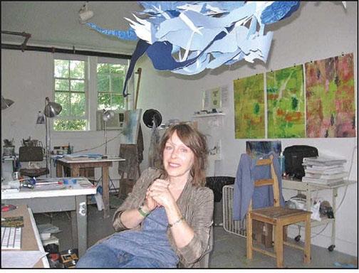Provincetown Banner  A HAPPY STRANGER IN A STRANGE LAND Susan Danko explores new terrain at arts center summer residency