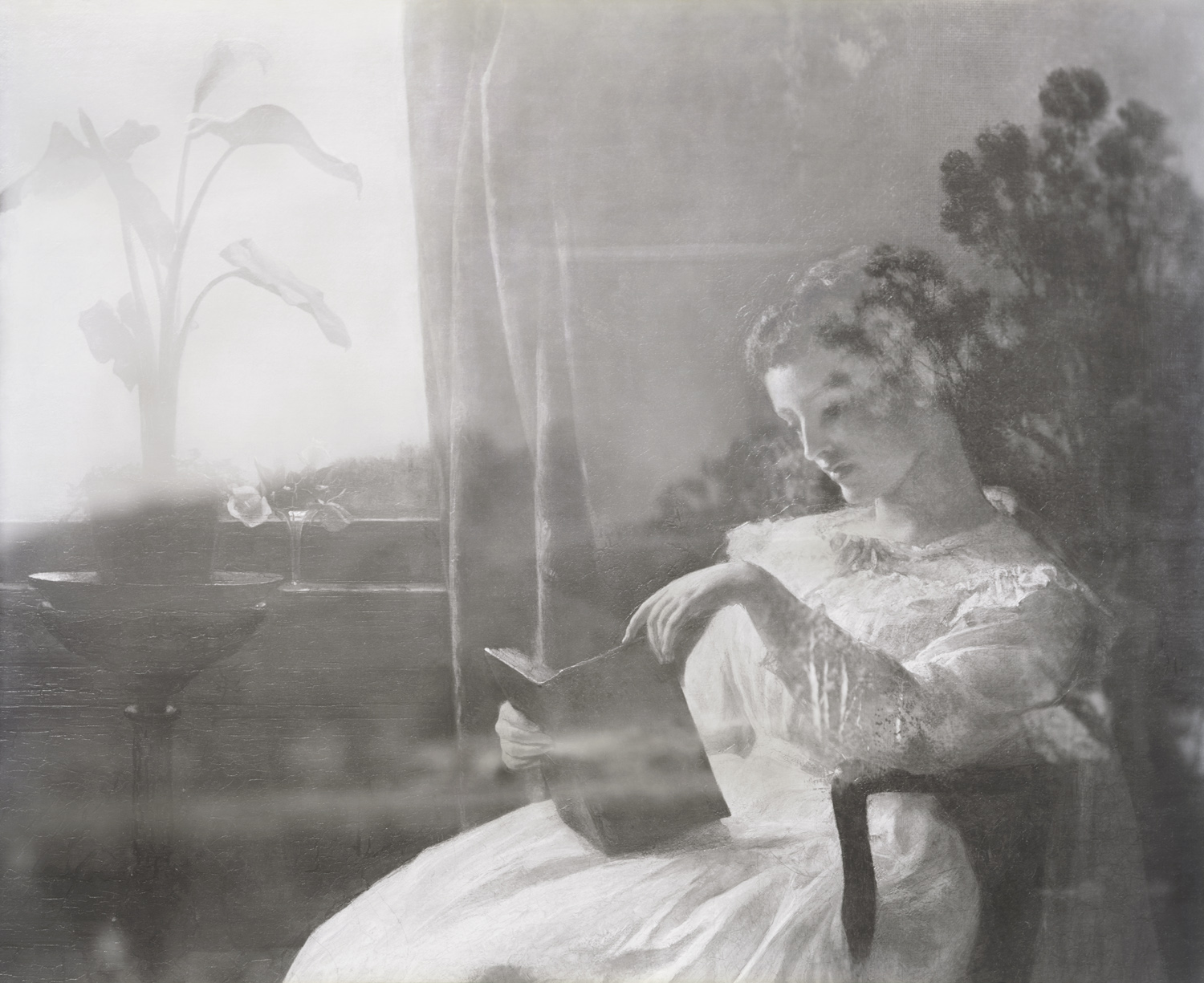 A Young Girl Reading, The Summer Storm