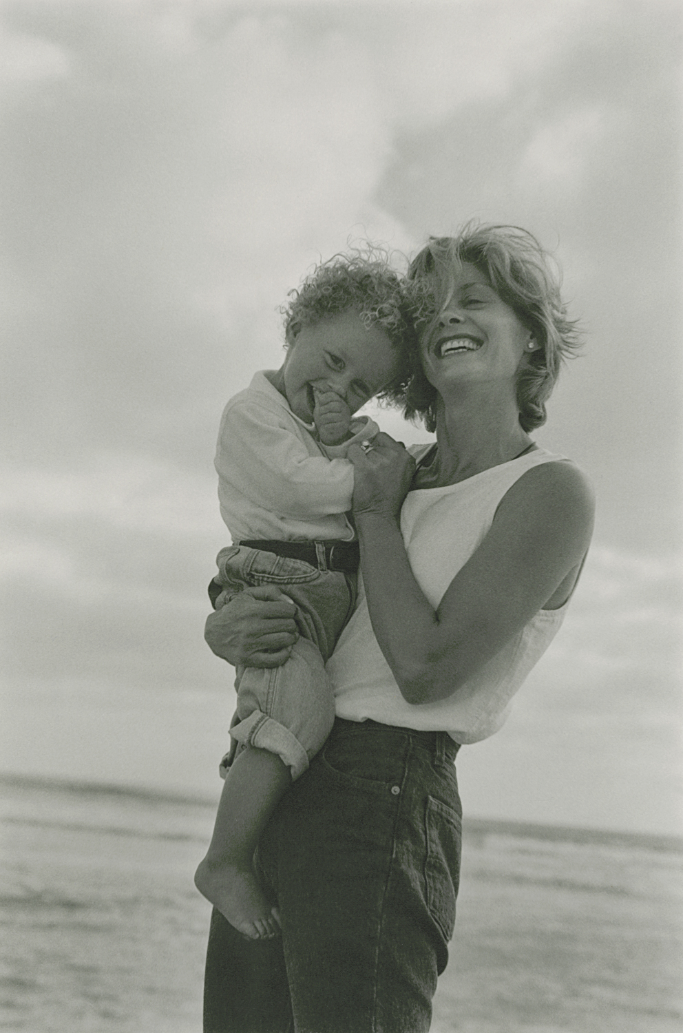 Robynn and Nathan, Del Mar, 1997