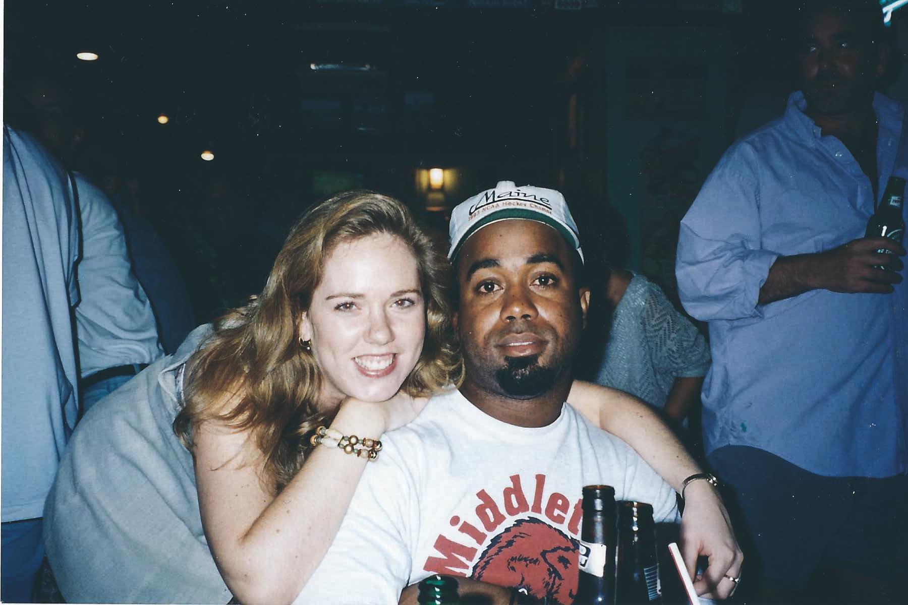Me & Hooty,Bermuda 1995