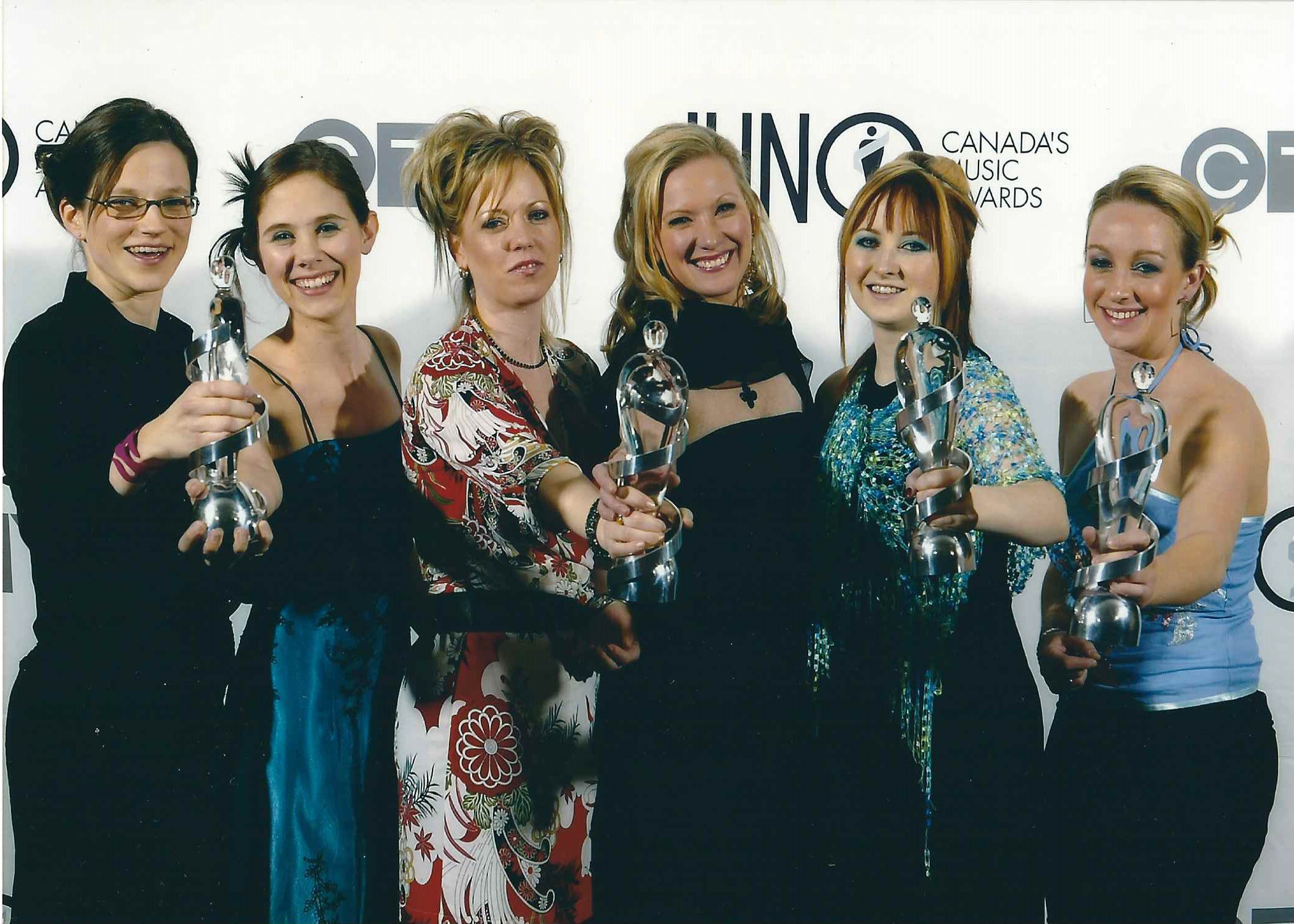 Backstage at the 2004 Juno Awards in Edmonton