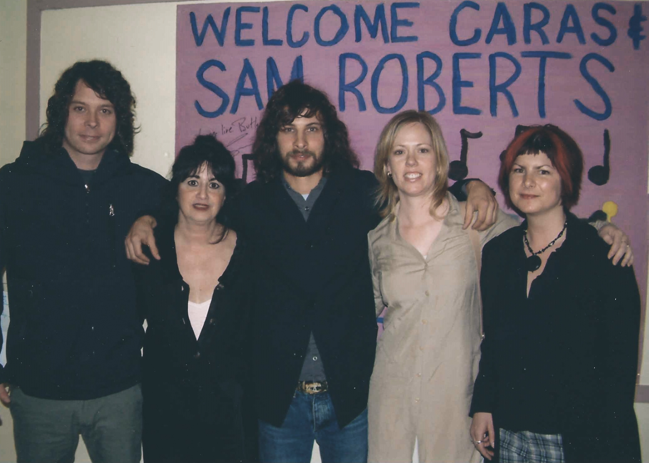 Sam Roberts event in Montreal, 2004