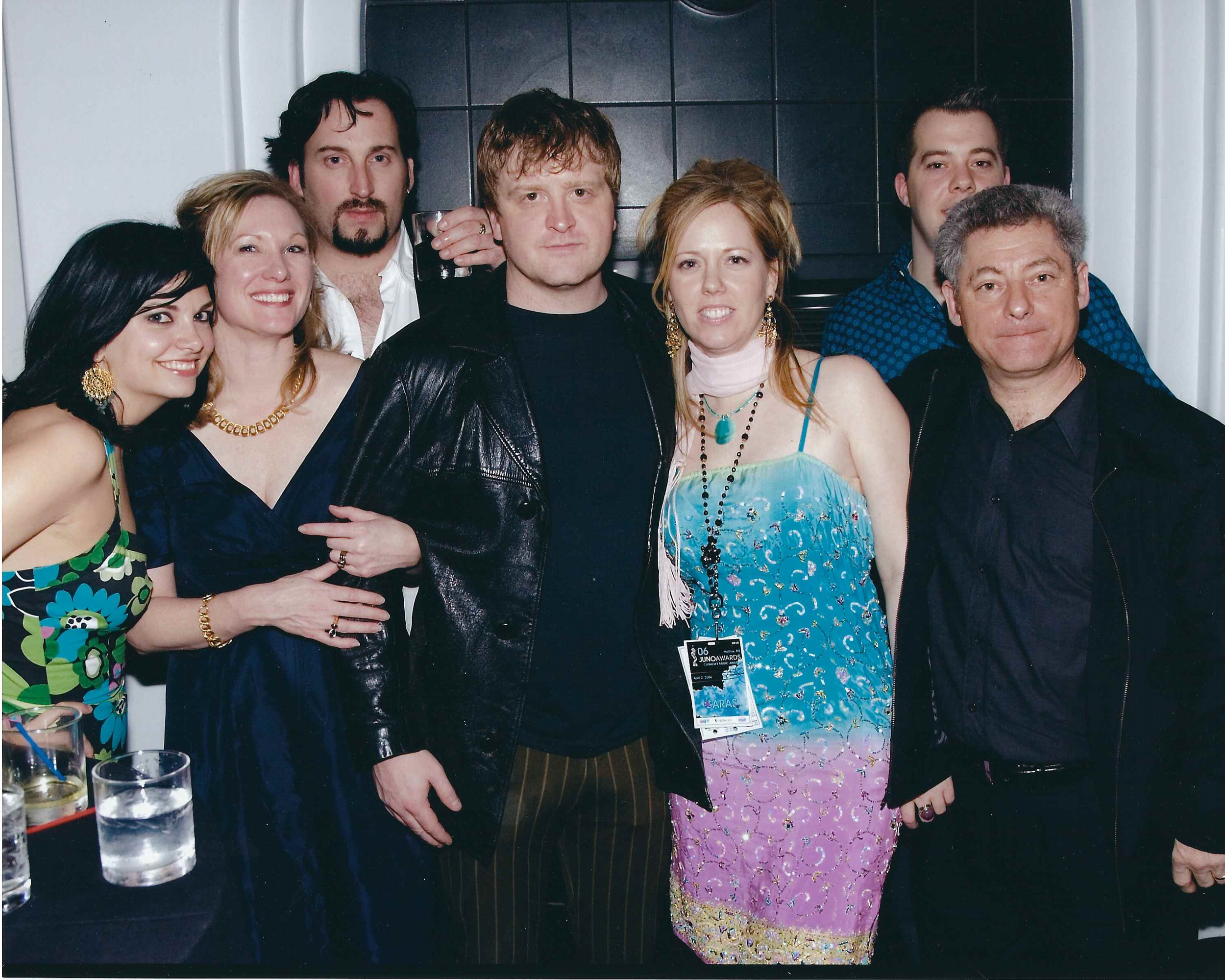 Juno After party with Julian and Bubbles of The Trailer Park Boys, Halifax 2005