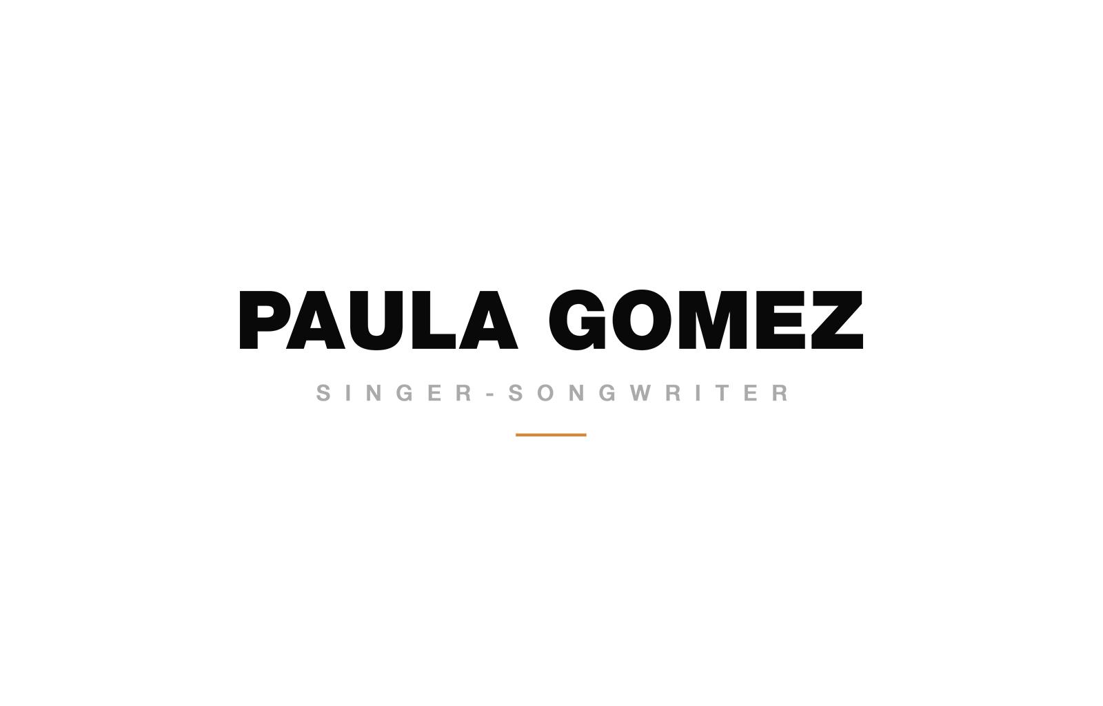 Logotipo Paula Gomez
