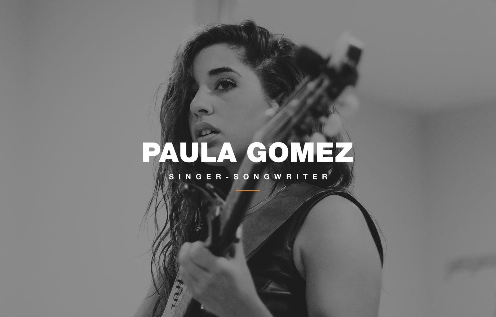 Paula Gomez - promocional