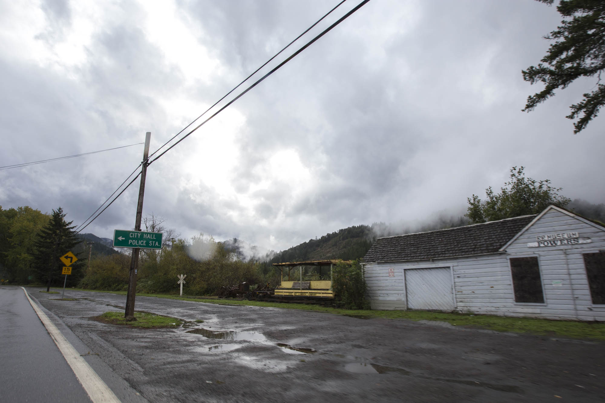 Powers, OR,a tiny town on the edge of the Rogue River-Siskiyou National Forest.
