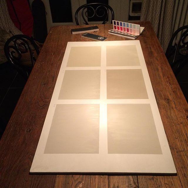 Finished #subtledifferences #littlegreenpaintcompany #farrowandball #paintandpaperlibrary